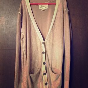 Coincidence and chance by Anthropologie cardigan